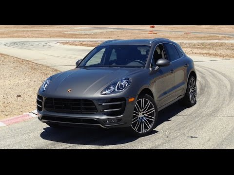 2015 Porsche Macan & Macan Turbo -- First Drive with Hurley Haywood at Willow Springs Raceway