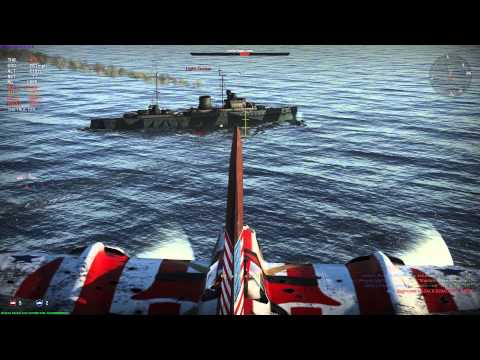 Bazooka on Light Cruiser - War Thunder