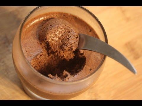 Recette Mousse Chocolat Inratable En 3 Mins Youtube