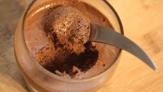 Recette Mousse Chocolat inratable en 3 mins!!