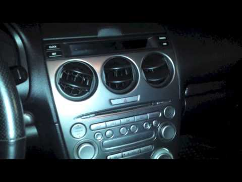How To Install AuxMod - Mazda 6 2003 - 2007