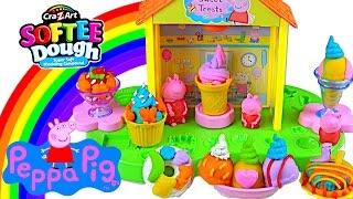 Peppa Pig Softee Dough Peppa's Sweet Shop - Kids' Toys