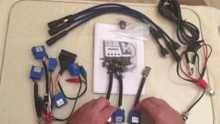 комплектация  стенда Молния-М для проверки свечей под давлением, катушек и модулей зажигания