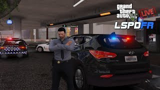 Grand Theft Auto V - LSPDFR LIVE! | QPS General Duties Patrol | Unmarked Santa Fe