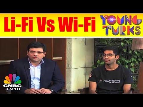 Li-Fi: High Speed Internet Through LED Lights | Top Innovators Under 35 | Young Turks