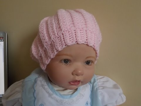 Crochet gorro para Bebé - con Ruby Stedman