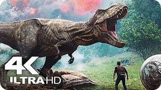Jurassic World 2 Trailer 4K Ultra HD (2018) The Fallen Kingdom