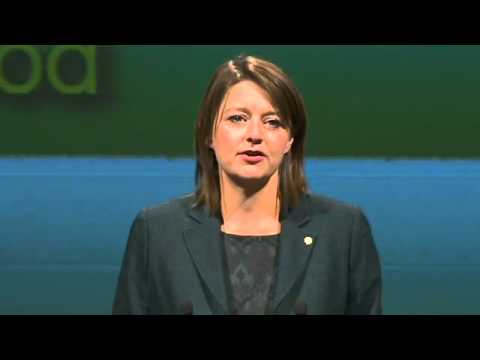 Leanne Wood - Plaid Conference - 11 October 2013