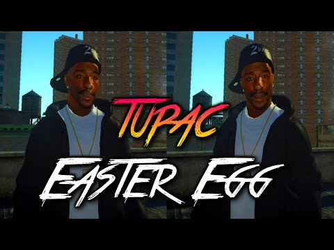 2Pac/Tupac Shakur Easter Egg In Grand Theft Auto 5! (GTA V)