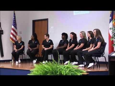 Swainsboro Practical Nursing Pinning Ceremony