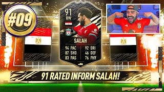 OMG 91 SALAH IS GOATED!!! *OVERPOWERED CARD* FIFA 21