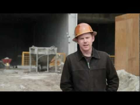 High-rise construction worker saved by MSA hard hat - YouTube 7f375b443c0
