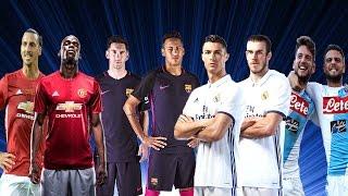 Best Football Duo 2017 ► Ibrahimovic & Pogba ● Messi & Neymar ● Ronaldo & Bale ● Mertens & Insigne