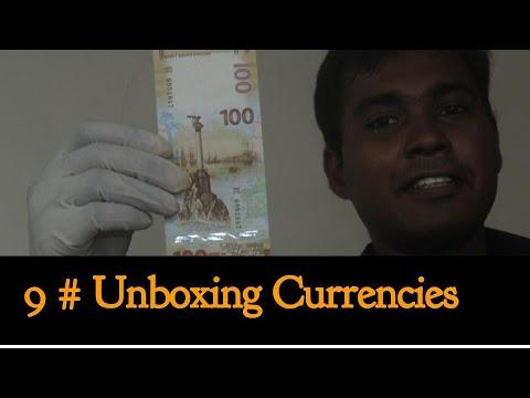 Unboxing Currencies # 9 | 100 Rouble | 1 Jiao | 5 Jiao | 1 Yuan | 1 Pounds South Sudan | 50 Intis |