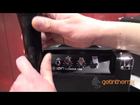 ION Karaoke Pro with getinthemix.com @ The NAMM Show 2013