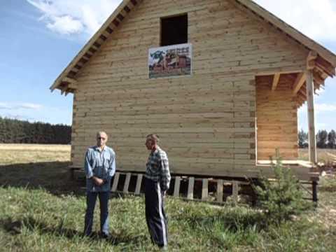 Видео-отзыв о строительстве дома из бруса (Киржач)