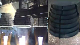 SLS Core Stage Hot Fire Test
