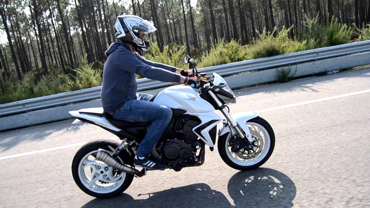 cb1000r wheelie - YouTube