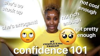 You're TOO HARD On Yourself: How To Own Your Confidence!!!