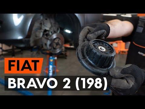 Как заменить опору передней стойки амортизатора FIAT BRAVO 2 (198) [ВИДЕОУРОК AUTODOC]