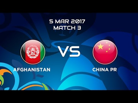 #AFCBeachSoccer 2017 - M3 Afghanistan vs. China P.R.