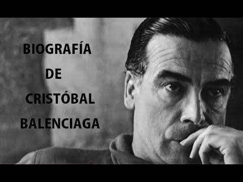 b365c98f7ea7 Biografía de Cristóbal Balenciaga - YouTube