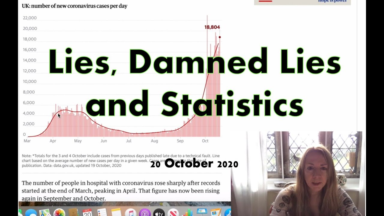 Lies, Damned Lies and Statistics 20 October 2020