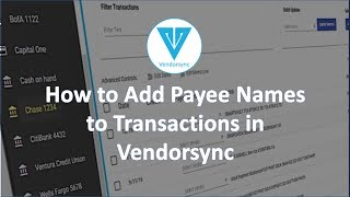 Add Payee Names to Transactions in QuickBooks