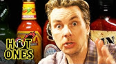Dax Shepard Does Mental Math While Eating Spicy WingsHot Ones
