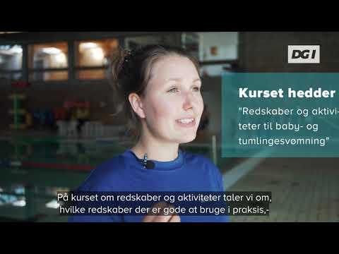Redskaber og aktiviteter til baby-og tumlingesvømning