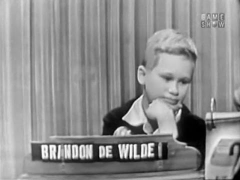 What's My Line?  Brandon DeWilde Jan 10, 1954 UPGRADE!
