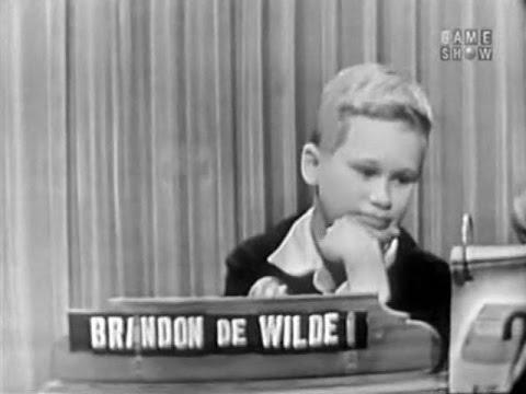 What's My Line?  Brandon DeWilde Jan 10, 1954 UPGRADE!