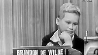 What's My Line? - Brandon DeWilde (Jan 10, 1954) [UPGRADE!]