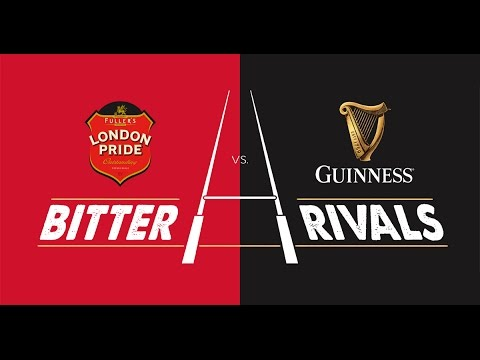 #BitterRivals with The Rugby Pod – London Pride vs. Guinness at The parcel Yard