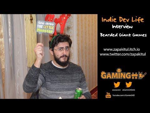 "Indie Dev Life: Bacioiu Ciprian ""Bearded Giant Games"" - Developer of Ebony Spire Heresy"