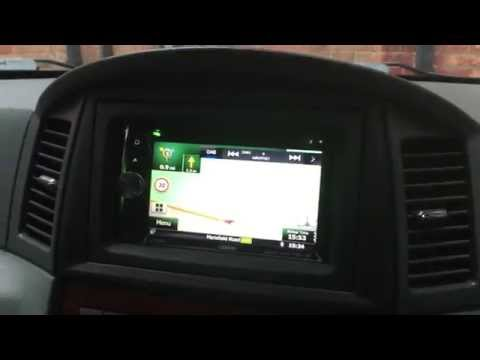 Jeep Grand Cherokee Clarion NX502EDAB Unit, Double Din, SAT NAV, Bluetooth