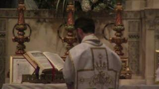 Father Jason Worthley celebrates Traditional Latin Mass - Assumption of Our Lady, 2011