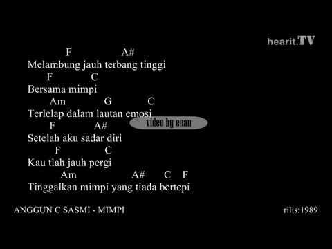Anggun C Sasmi  Mimpi Chord dan Lirik