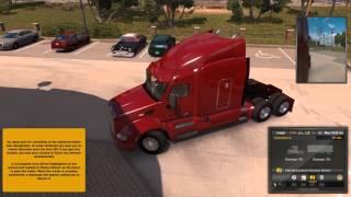 American Truck Simulator - TRUCK CRASHDRIVING TIME!