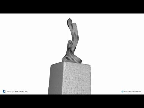 Bruce Beasley - 3D Printed Sculpture - From Scan to Mesh