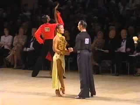 UK Open Amt Latin Ballroom Dancesport Championship 2007   YuMe Video