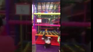 Hilarious Sunderland soft play accident