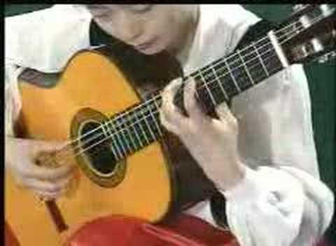 Li Jie plays Sunburst by Andrew York