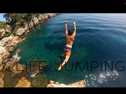 Cliff Jumping Antibes