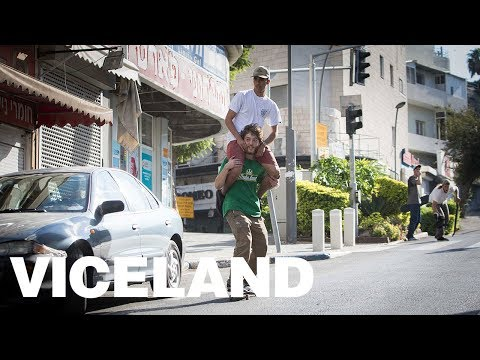 Skateboarding and the Israel Palestine Border