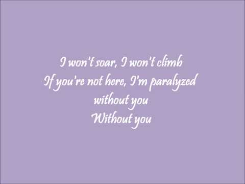 Without You Glee Karaoke / Instrumental