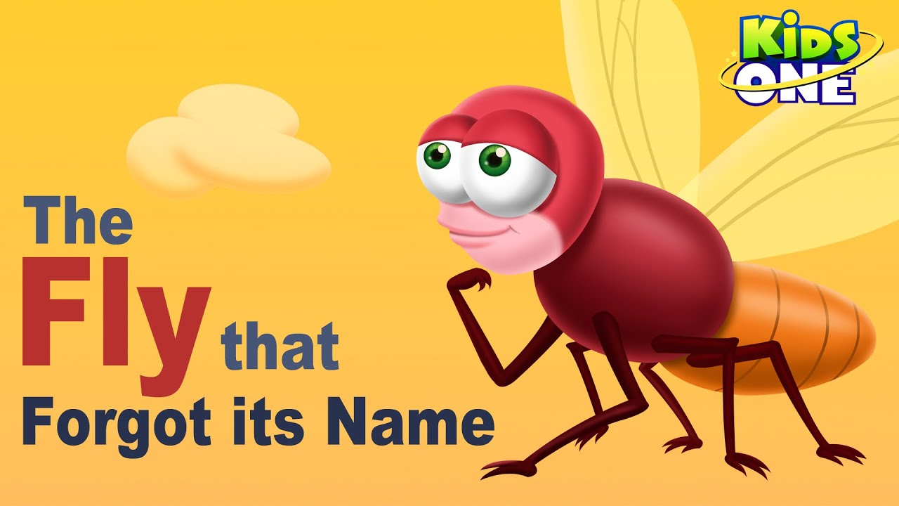 The Fly that Forgot It's Name | Funny Short Story For Kids - KidsOne