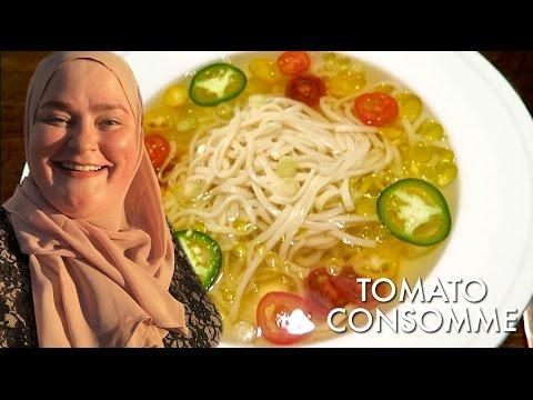 Vegan Tomato Consomme