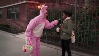 Billy on the Street: When the Easter Bunny Attacks!!!