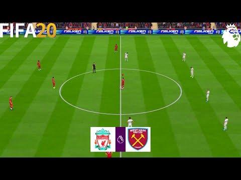 FIFA 20 | Liverpool Vs West Ham United - Premier League 19/20 - Full Match & Gameplay